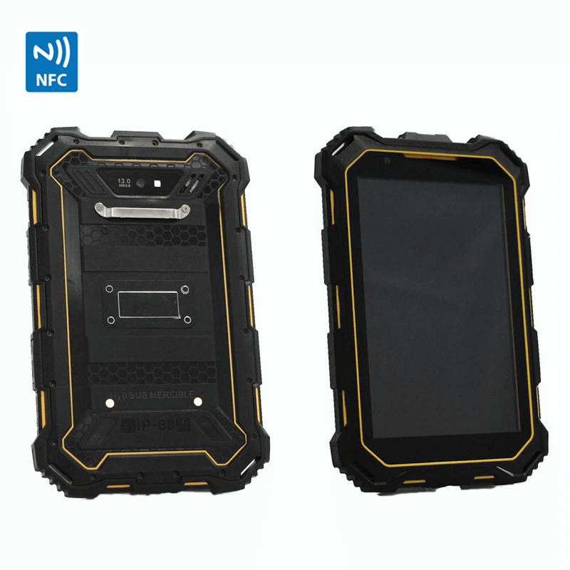 Rugged android 4.4 industrial waterproof 7inch tablet with NFC 3G GPS Wifi bluetooth camera