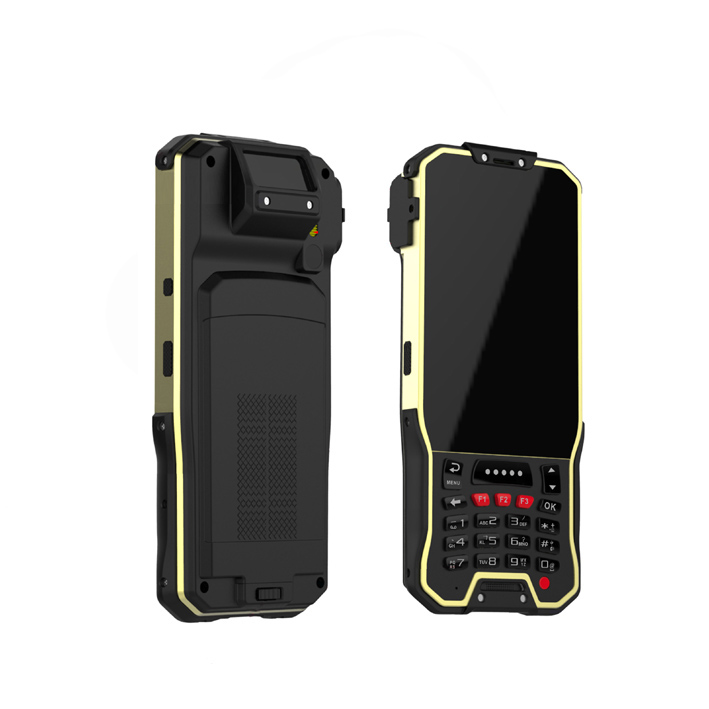 Android 4.4 Rugged Handheld Terminal With 2D Barcode