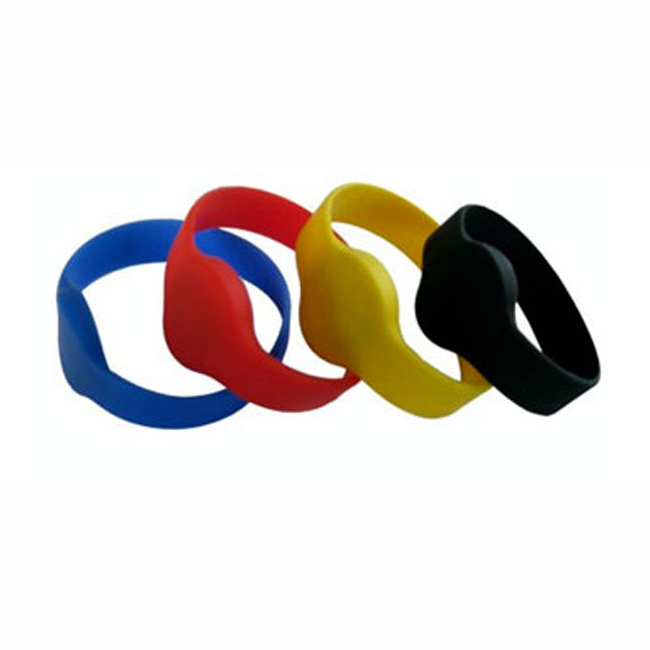MIFARE 1K wristbands 13.56mhz IS014443A rfid silicon waterproof bands (pack of 10)