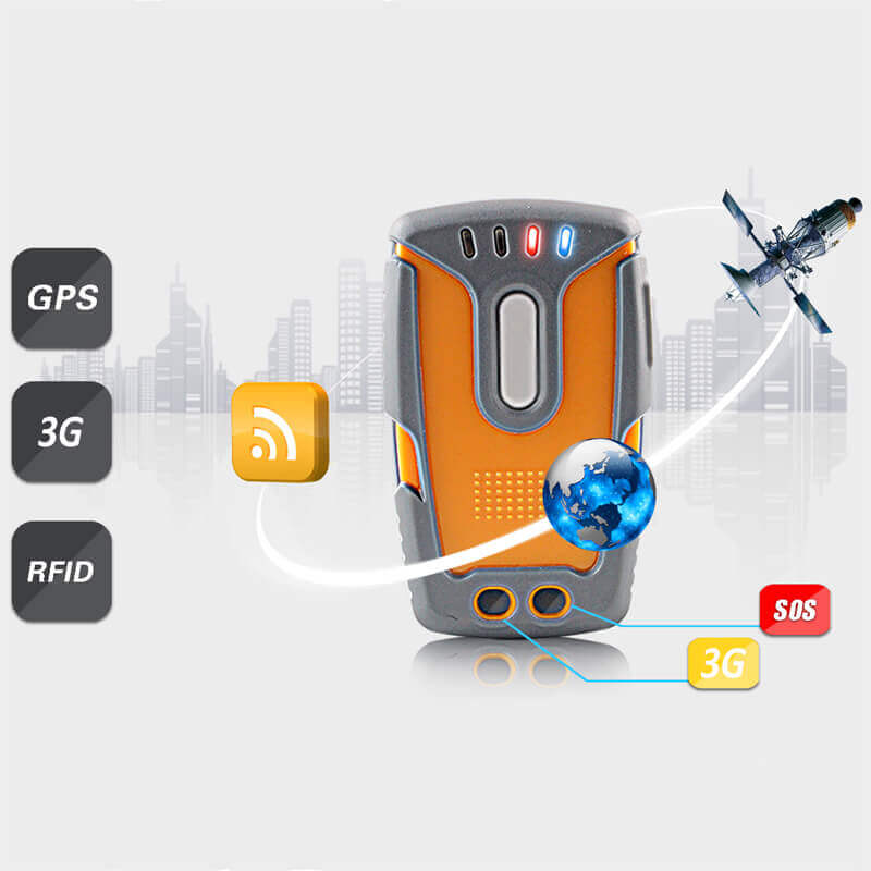 Real time guard tour system mobile GPS patrol with web based monitoring software