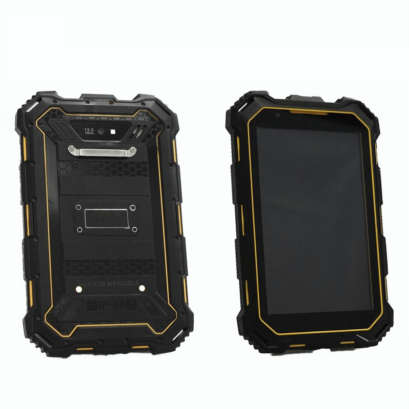 IP68 Android4.4 7 inch quad core tablet with rugged waterproof IPS screen, 3G, Wifi, Bluetooth, GPS and camera