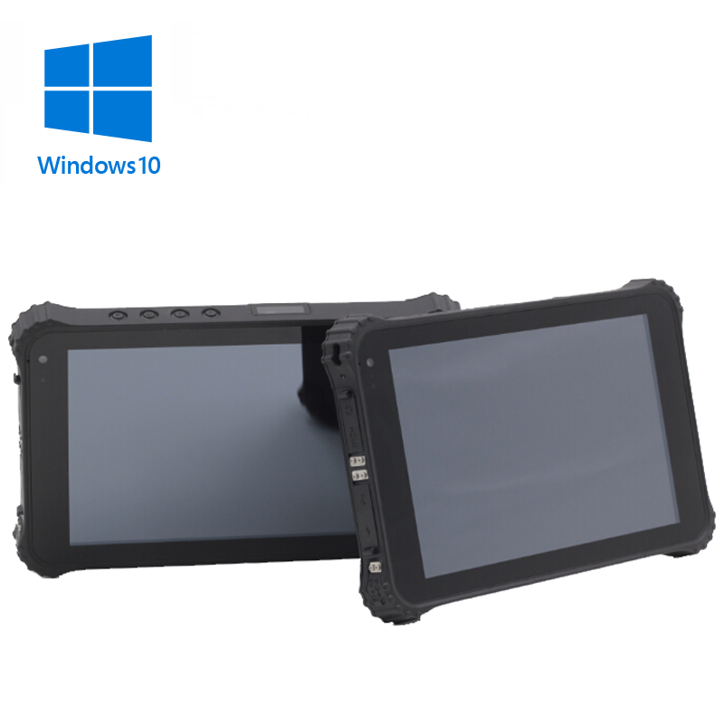 8 inch rugged IP67 tablet with 3G, Wifi, Bluetooth, GPS and camera with windows 10