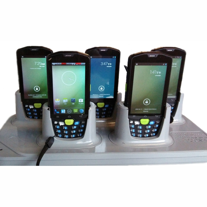 available with downloading and charging cradle, 5 way multi charging docks.