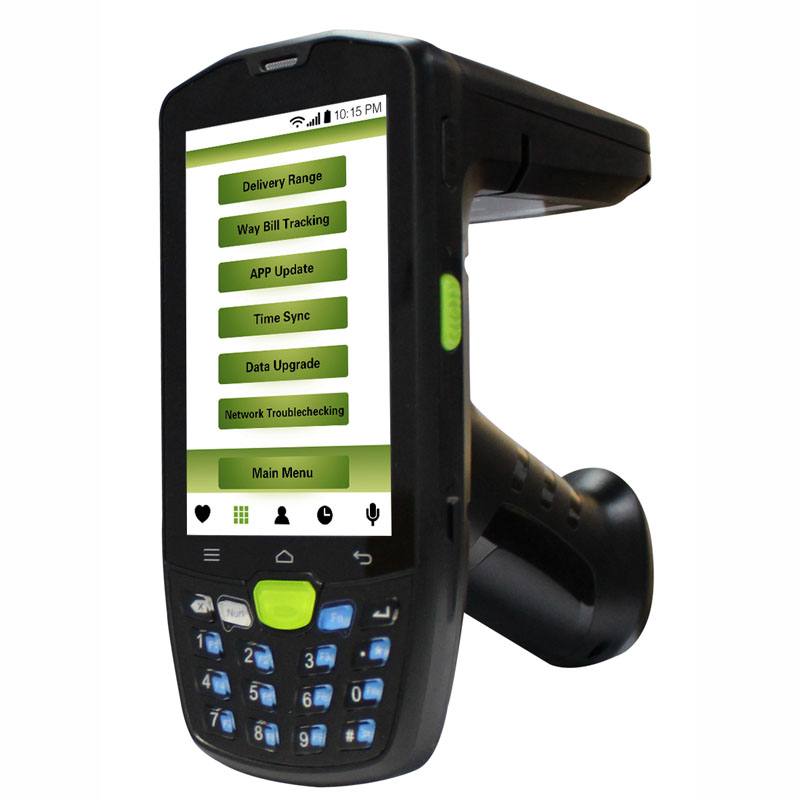 Android 5.1 rugged device with IP67 protection 4G wifi Bluetooth NFC 2D barcode UHF RFID