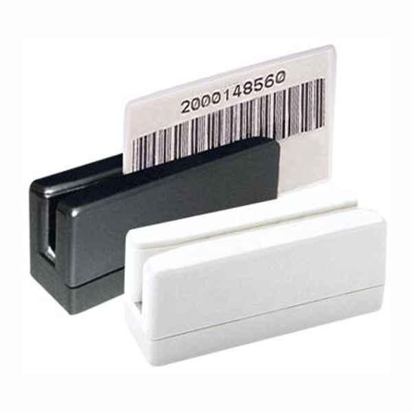 Barcode swipe card reader reads all well know barcodes and available in USB, RS232 and PS2 interface