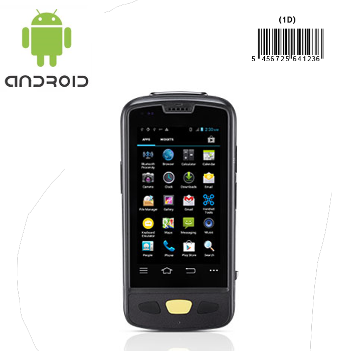 Android mobile device with barcode scanner for inventory stocktaking asset tracking retail