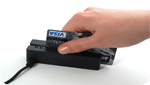 Magnetic stripe card reader - writer