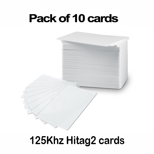 Hitag2 card 125khz RFID compatible with net2 paxton access control cards (pack of 10)