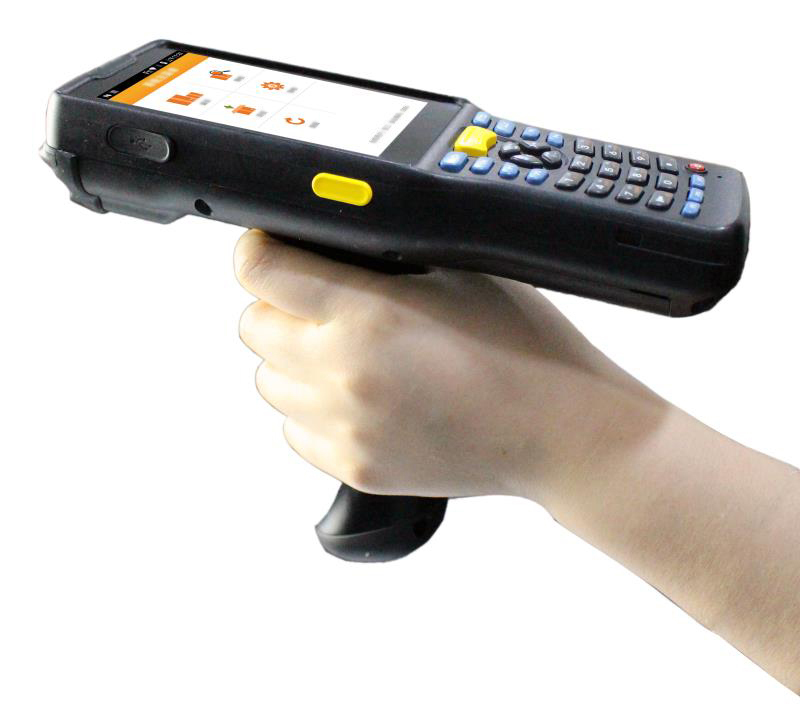 Ideal for warehouse application can scan the barcode up to 8 meters