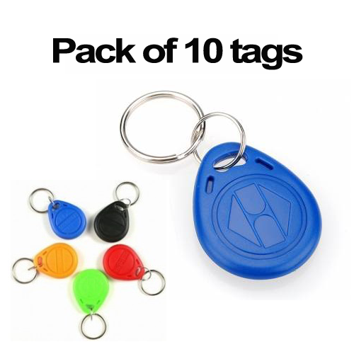 1k keyfob ISO14443A 13.56mhz RFID NFC contactless S50 tags (pack of 10)