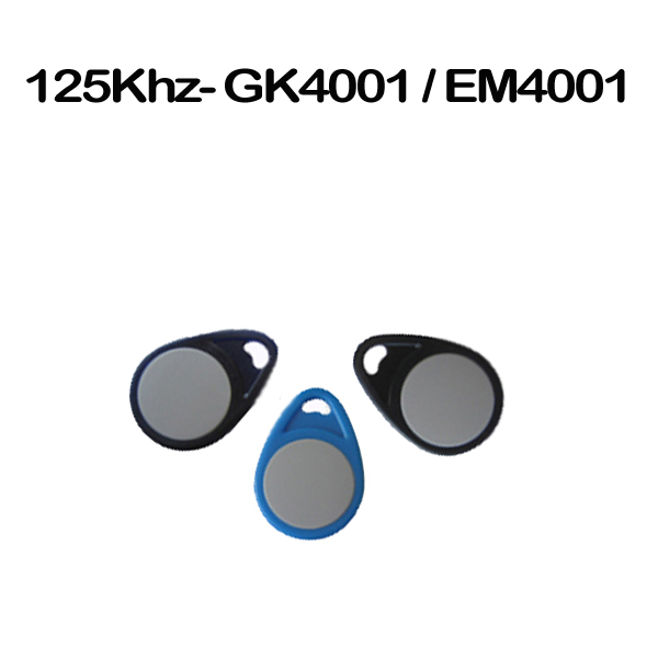 GK4001 EM4001 EM4102 proximity Low frequency 125khz keyfobs
