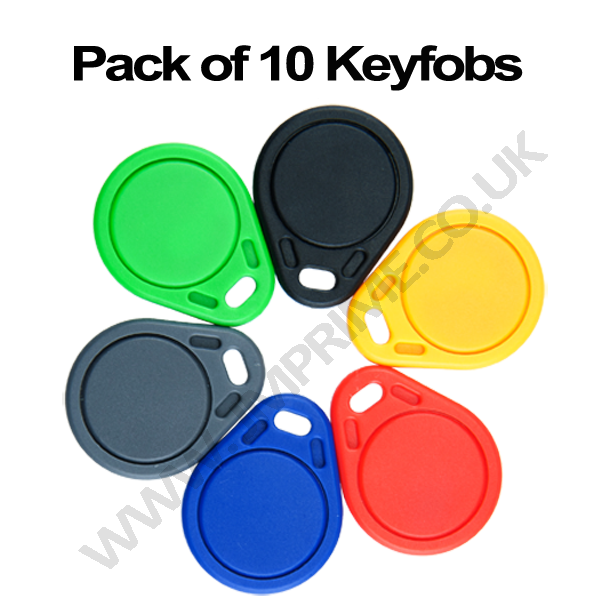 13.56mhz 1K MIFARE ISO14443A HF contactless RFID s50 keyfobs (pack of 10)