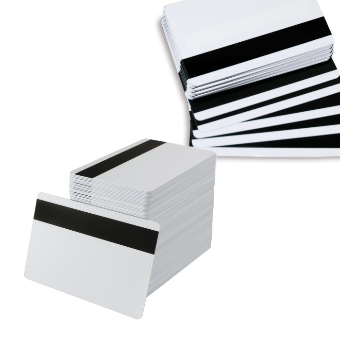 Hico magnetic stripe cards ideal for id card, access control, loyalty, membership cards