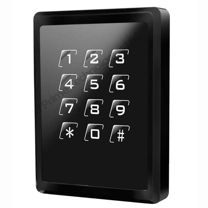 RFID keypad access control reader with 26bit weigand output supports EM4100 or Tk4100 cards