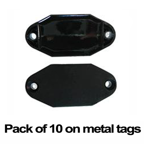 MIFARE on metal tag ISO14443A 13.56mhz RFID 1K S50 rugged HF bin tag (pack of 10)