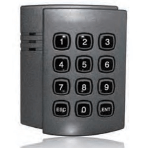 13.56mhz RFID keypad access control reader with 34bit weigand output supports mifare cards