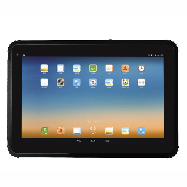 Outdoors 10 inch android waterproof rugged tablet with wifi 4g GPS bluetooth NFC camera