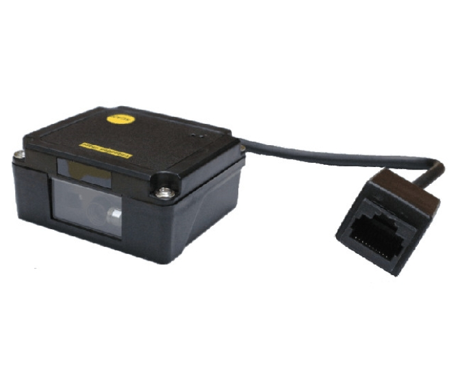 OEM 1D barcode module fixed mount scanner ideal for kiosk or EPOS integration