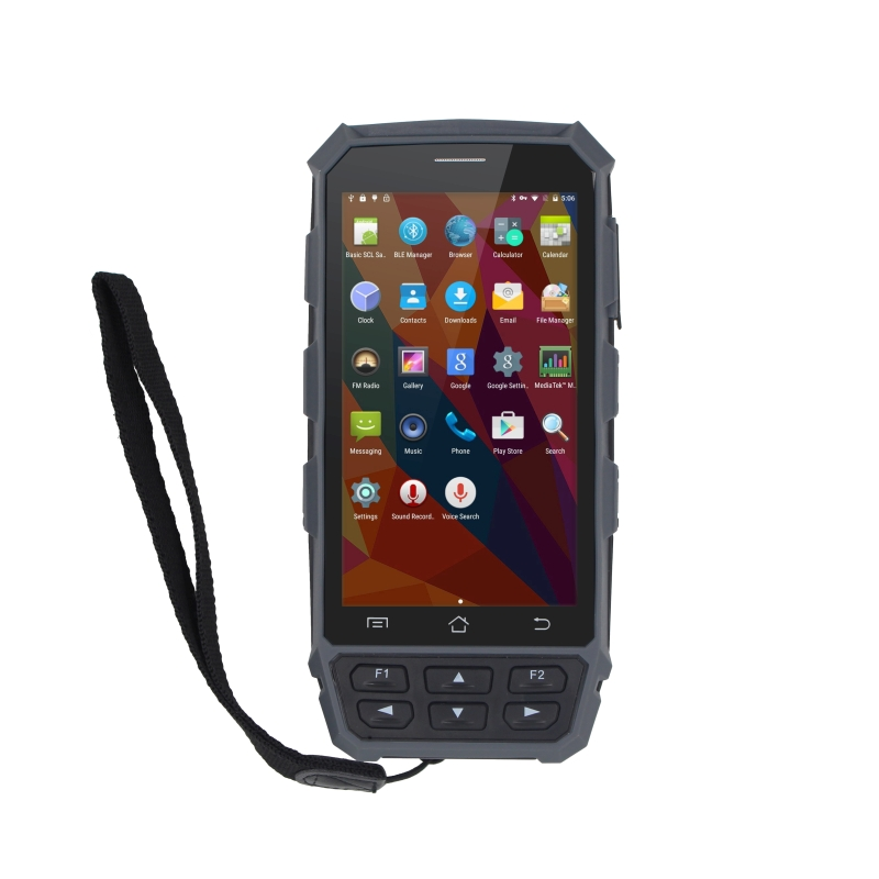 LF 125khz FDX-B RFID rugged android portable handheld terminal for animal tracking