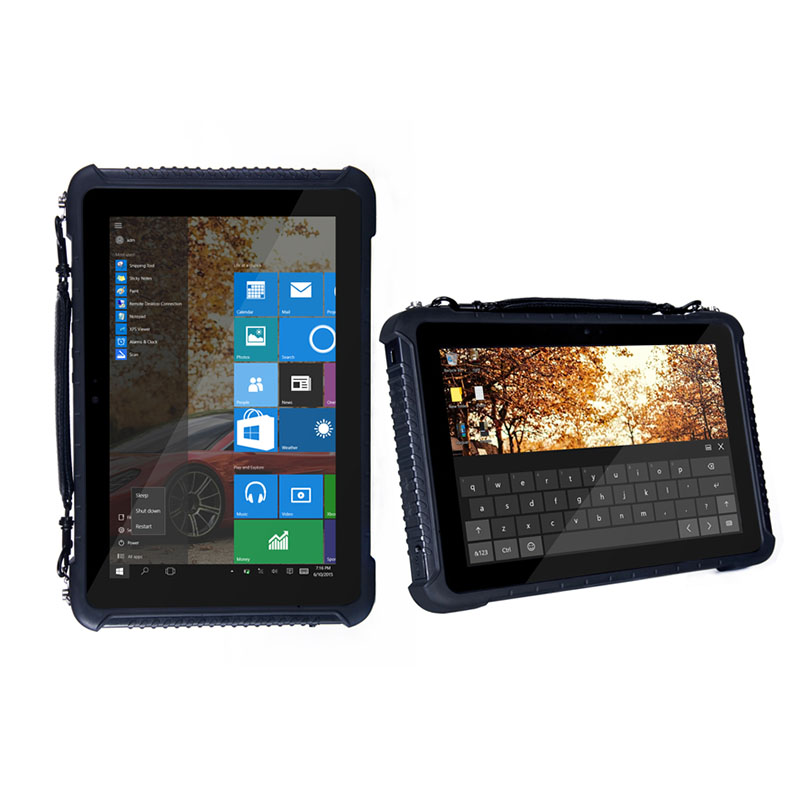 10 inch tough rugged windows tablet device with 3G Wifi Bluetooth GPS camera IP65 rating