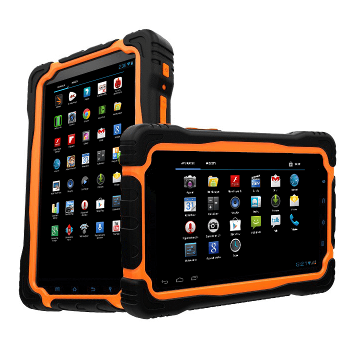 7 inch dual core tablet with rugged waterproof IPS screen, 3G, Wifi, Bluetooth, GPS and camera with Android 4.1