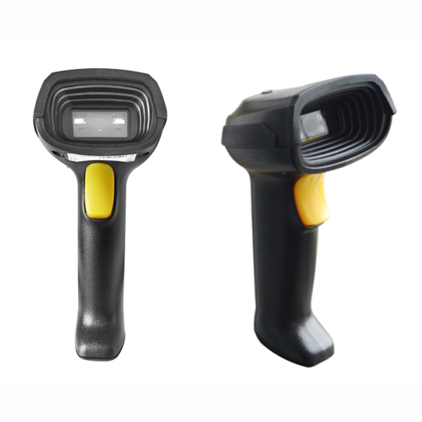 2D barcode scanner reads 1D and 2D usb barcodes reader with stand