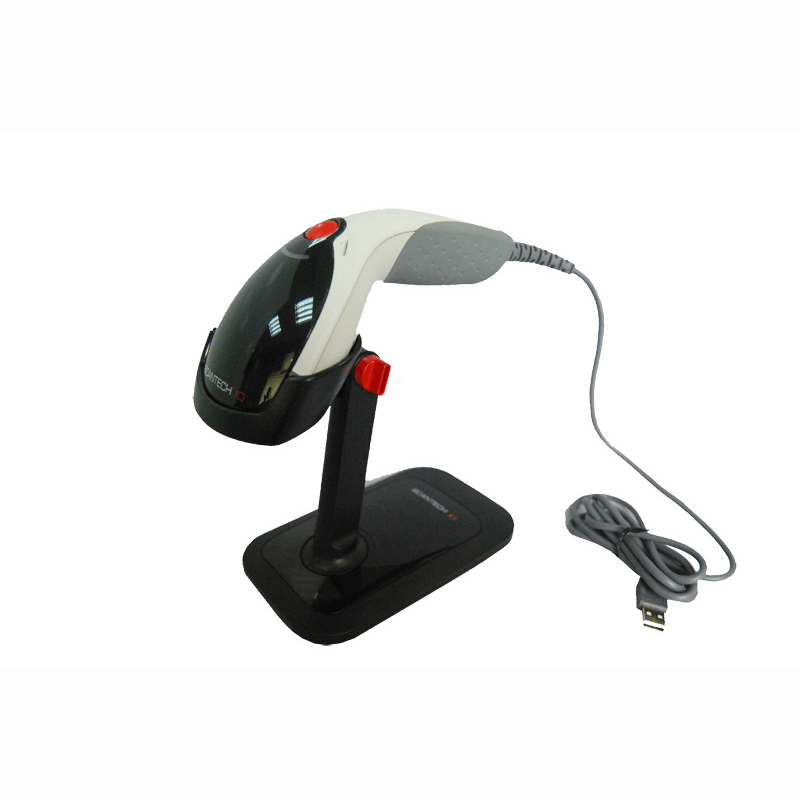 2D handheld barcode scanner also reads 1D and 2D barcodes from mobile phones