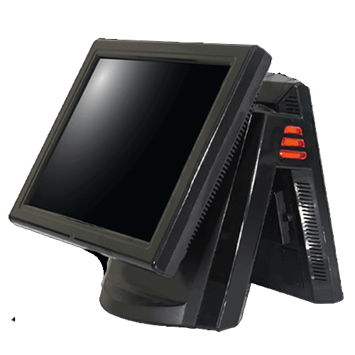 EPOS system with built in thermal printer compact design ideal for retail hospitality pub shops