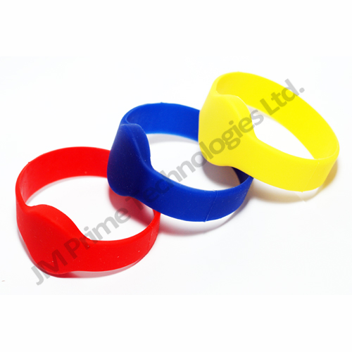 tough durable waterproof silicon rfid wristband