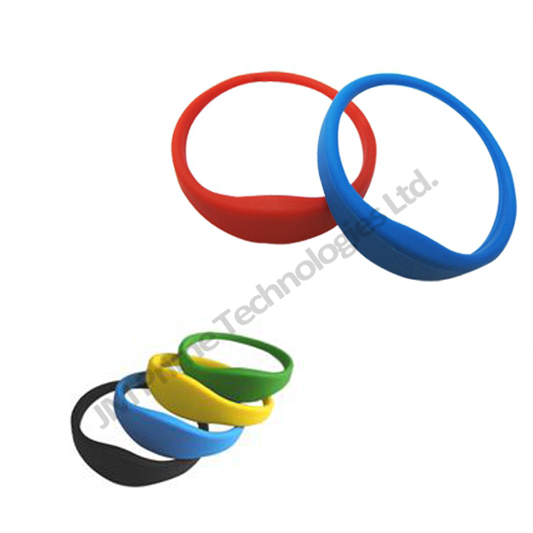 tough waterproof silicon fudan wristband